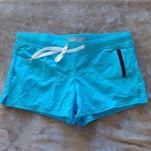 Taddlee Swim Trunks Briefs Brazilian Aqua Blue M